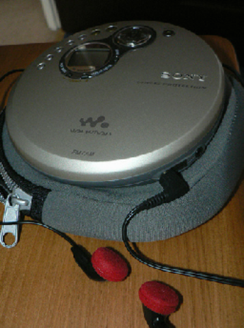 First Portable CD Player
