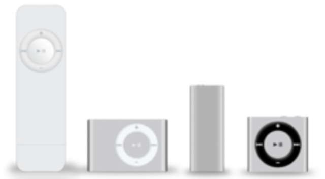 First Ipod Shuffle
