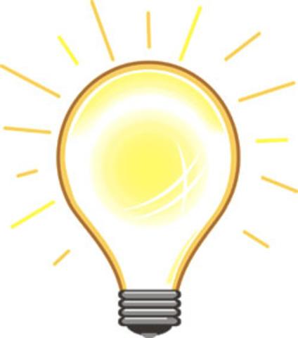 First Electric Lightbulb