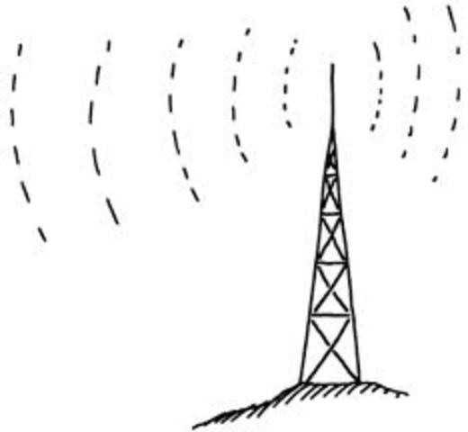 First Transmition of Radio Wave
