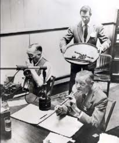 First Speech Over Radio