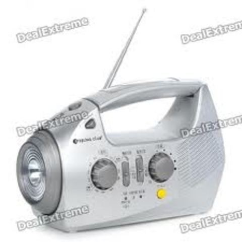 Radio Powered by a Battery