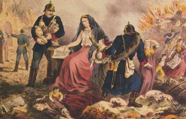 Enfrentamiento entre Francia y Alemania