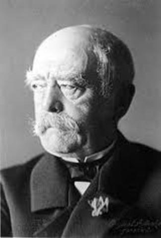Alemania, I. Austro-Húngaro e Italia (obra de Bismarck).