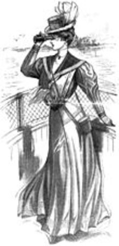 fashion of the 1900s