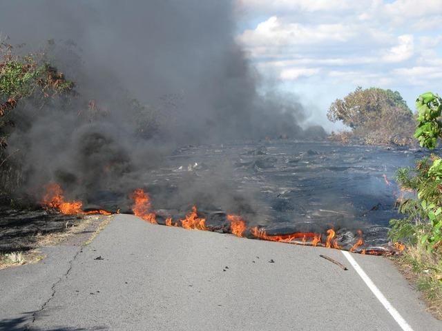 Volcano Damage