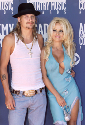 Kid Rock's personal life has overshadowed his career at times. He began dating actress Pamela Anderson in 2001.