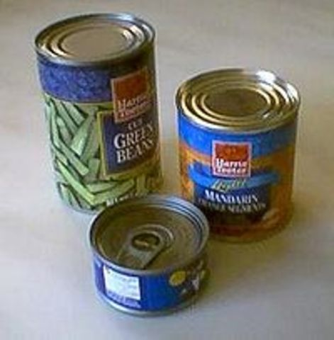 Tin Can Invented