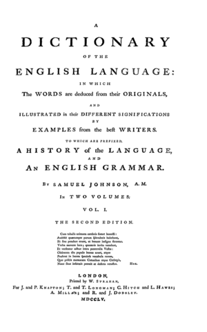 First Reliable English Dictionary Published