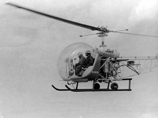 Το πρώτο ελικόπτερο