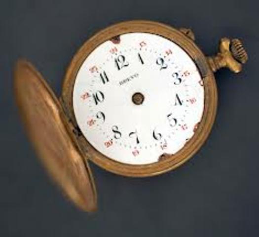 Το πρώτο ρολόι τσέπης