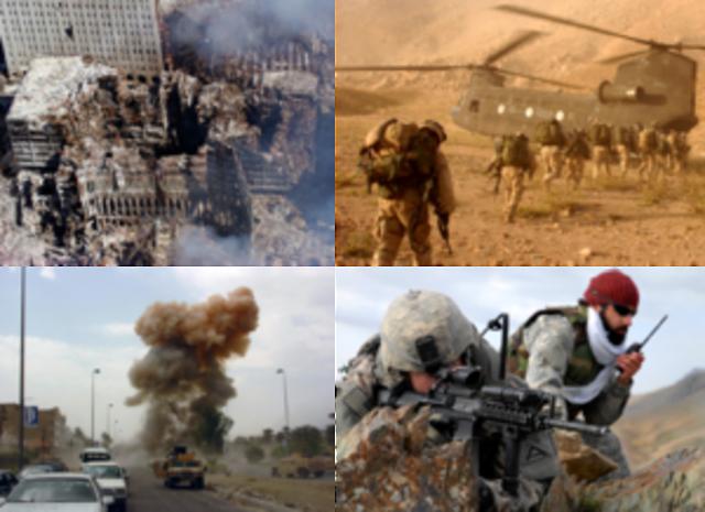 War on terror begins (age 26)