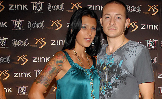 Chester got married to his second wife