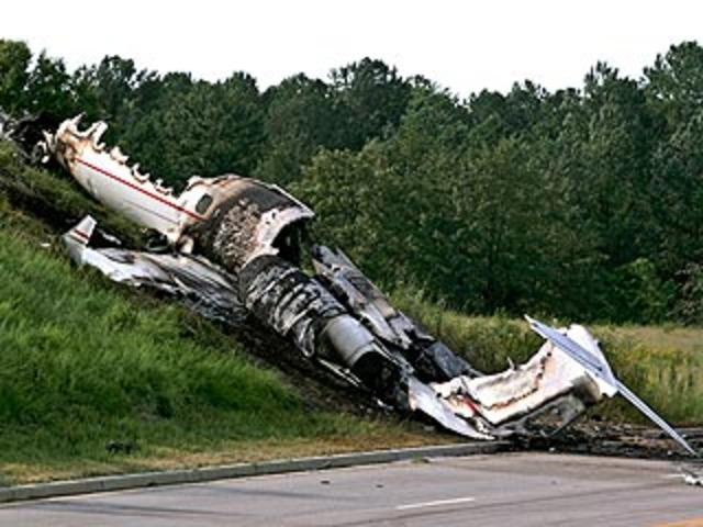 Travis Baker Plane Crash