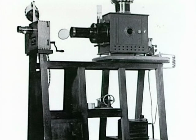 The Lumière brothers unveiled their Cinématographe to the public