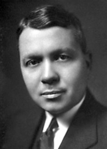 Harold c. Urey discovers deuterium which later contributes to the atomic bombs creation
