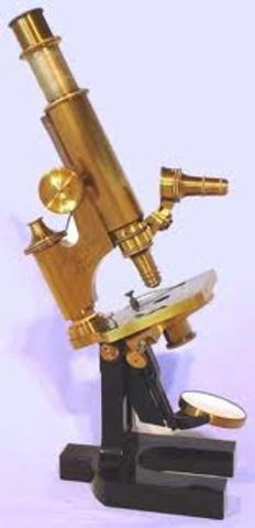 εφεύρεση μικροσκοπίου