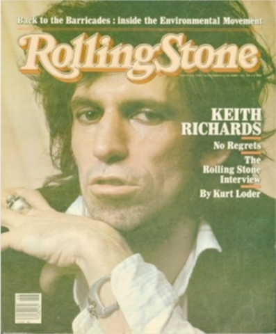 The creation of the Rolling stone magazine