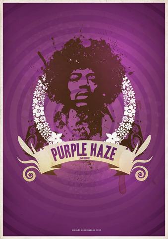 Release of purple haze by jimmy hendrix