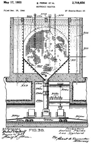 Ο πρώτος πυρηνικός αντιδραστήρας