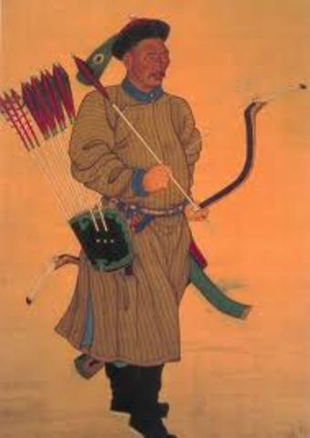 Manchus invaded China