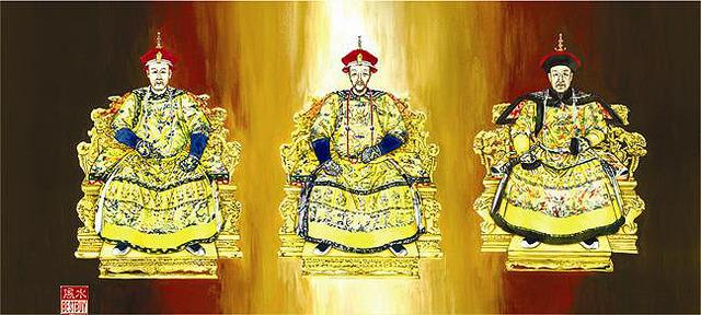 The three emperors of China