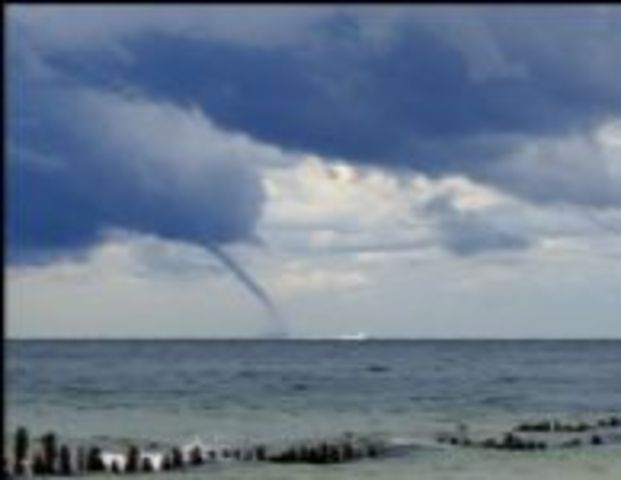 water spout hit Holland michigan