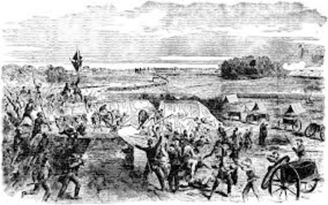 Siege of Corinth, mississippi.