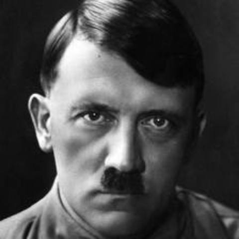 Adolph Hitler declares himself president and chancellor of the Third Reich after the death of Paul von Hindenburg.