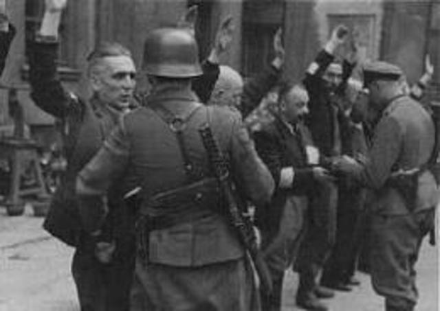July 12	 The first German Gypsies are arrested and deported to Dachau concentration camp.