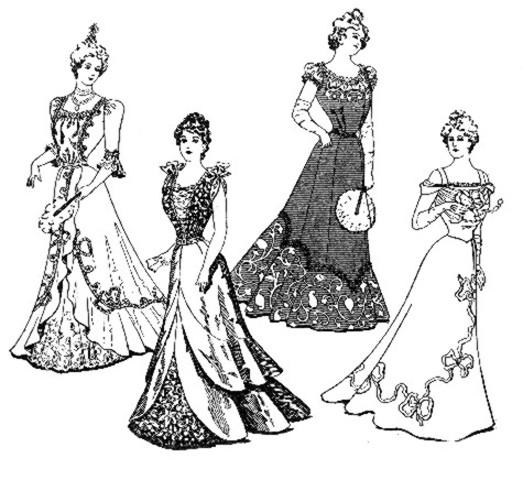 fashion timeline timetoast timelines 90'S Female Fashion fashion in 1900