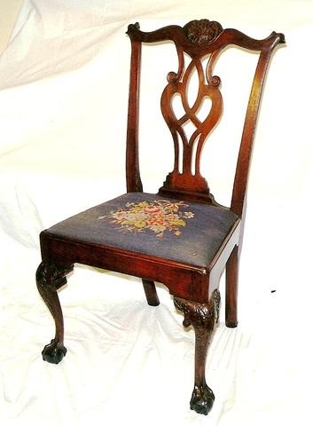 Georgian: Chippendale Chair