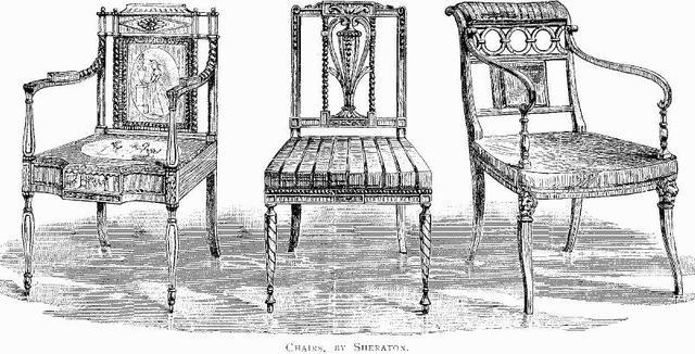 Federal: Sheraton Chair