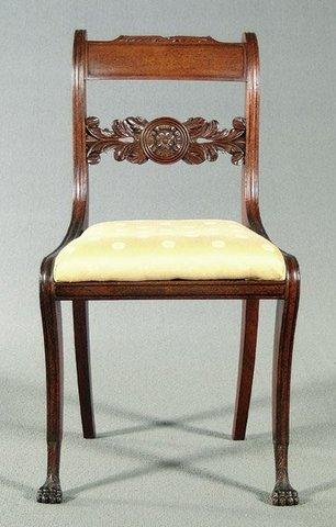 American Empire: Regency Chair