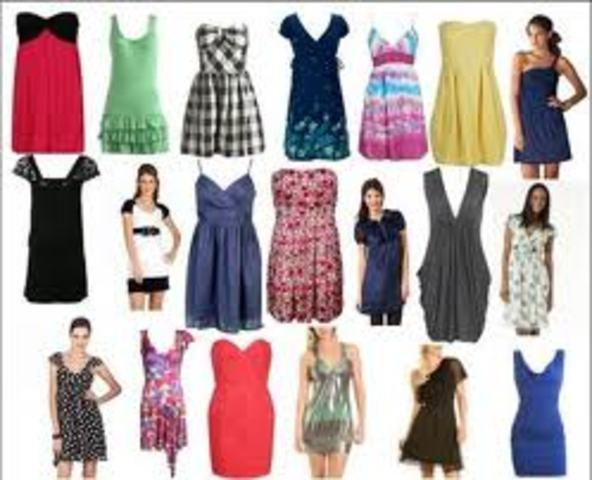 Th Century Fashion For Girls
