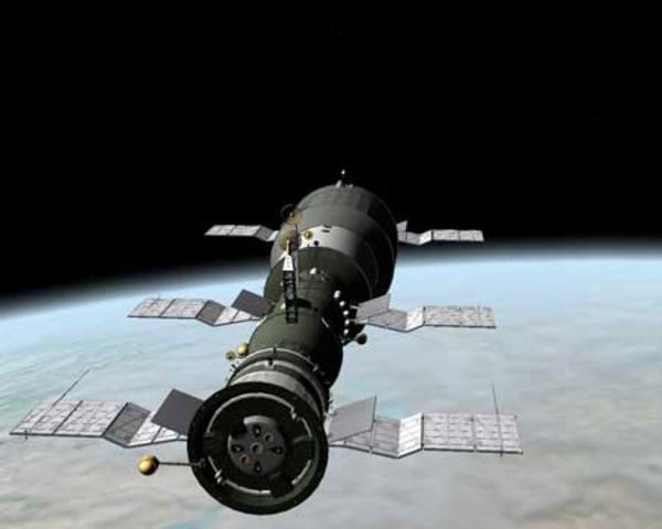 Πρώτος διαστημικός σταθμός