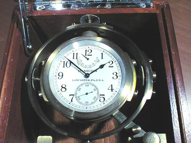 Marine Chronometer Invented by John Harrison