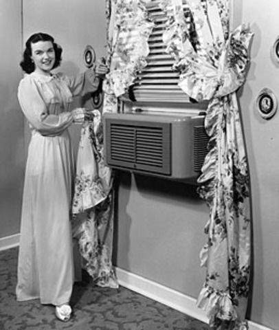 Η πρώτη συσκευή κλιματιστικού