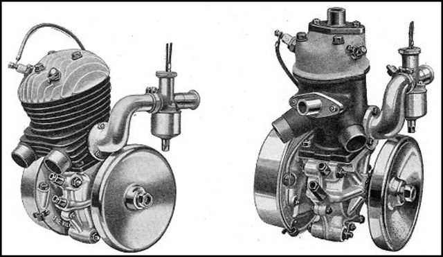 Aircooled Engines Replace Watercooled Airplanes