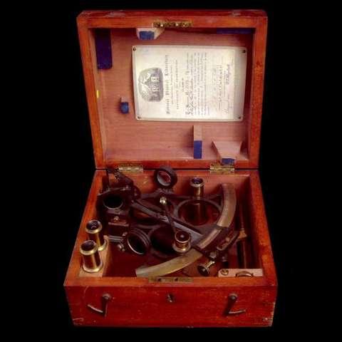 Ο εξάντας γωνιομετρικό οργανο 1757
