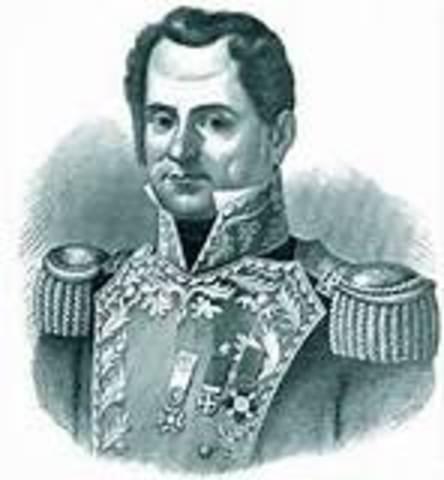 José Justo Corro (I),  Anastacio Bustamante