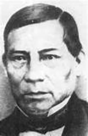 Benito Juarez (I), Félix María Zuloaga (I)