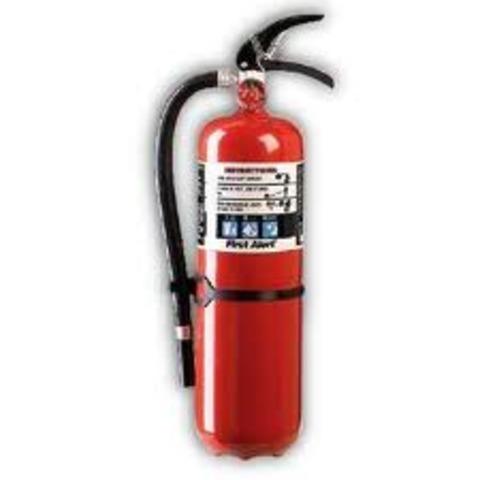 Ο πρώτος πυροσβεστήρας