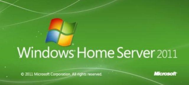 Microsoft Windows Home Server 2011