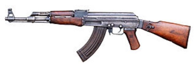 AK-47[Καλάσνικοφ(Avtomat Kalashnikov)]
