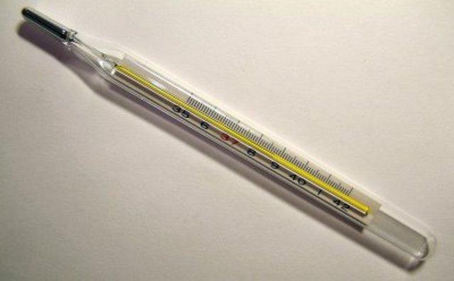 Θερμόμετρο υδραργύρου