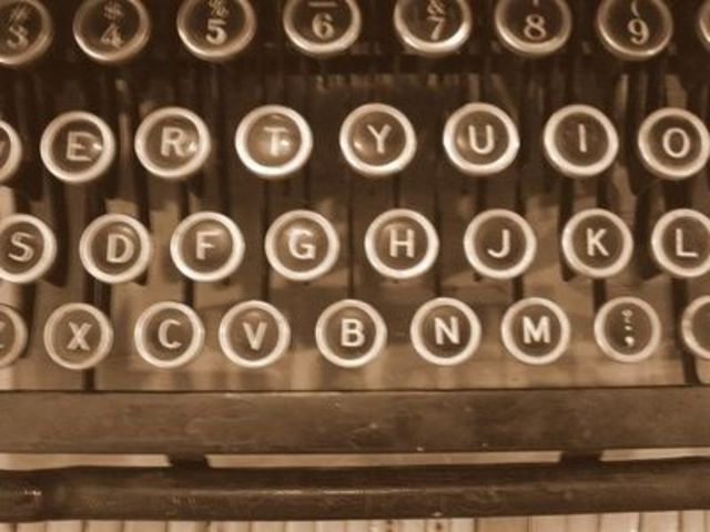 Type Writer- Invented by Christopher sholes and Carlos Glidden