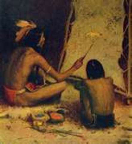 native americans of the colonial time Almost from the time the first europeans landed in the  indian relations during the colonial period  thousands of native americans died from combat,.