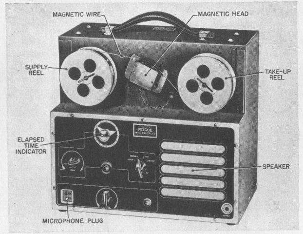 the first wire recorder