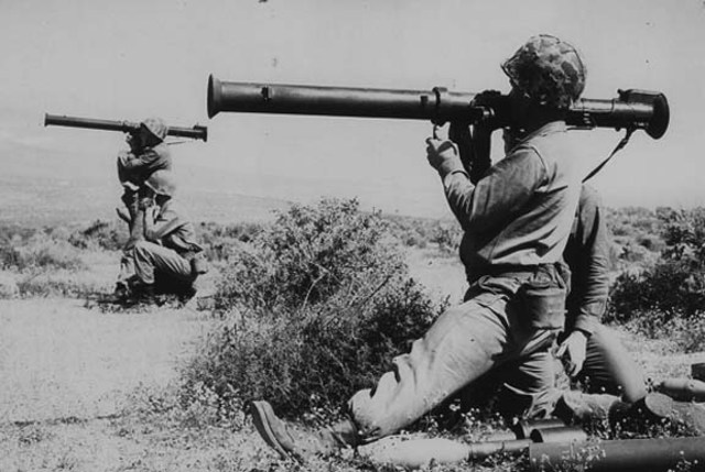 The invention of the Bazooka